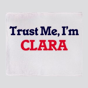 Trust Me, I'm Clara Throw Blanket