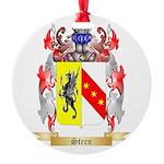 Stern Round Ornament