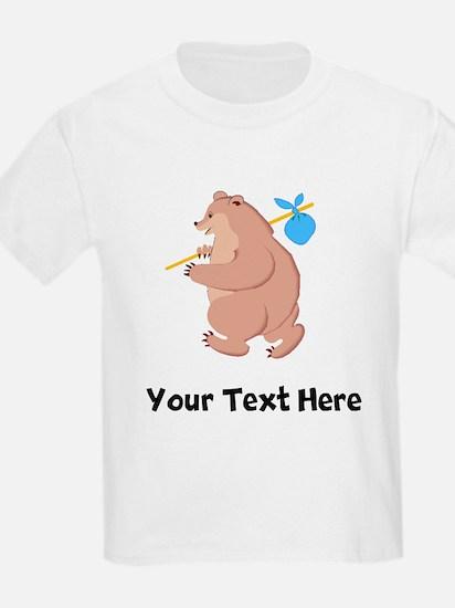 Bear Hitchhiking (Custom) T-Shirt