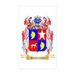 Stephensen Sticker (Rectangle 50 pk)