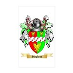 Stephens Sticker (Rectangle 50 pk)