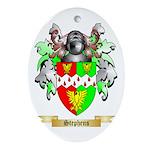 Stephens Oval Ornament