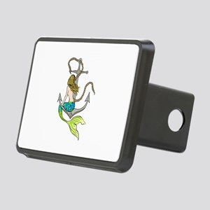 Mermaid On Anchor Hitch Cover