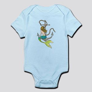 Mermaid On Anchor Body Suit