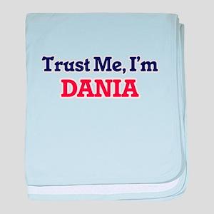 Trust Me, I'm Dania baby blanket