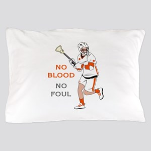 No Blood No Foul Pillow Case