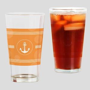 Beautiful Modern Nautical Design Drinking Glass