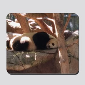 Sleeping Panda Mousepad