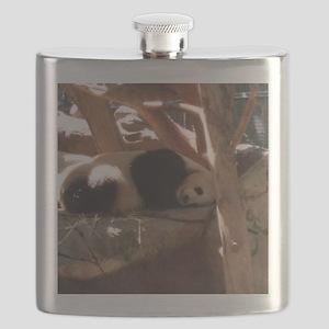 Sleeping Panda Flask