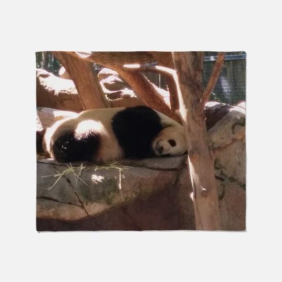 Sleeping Panda Throw Blanket