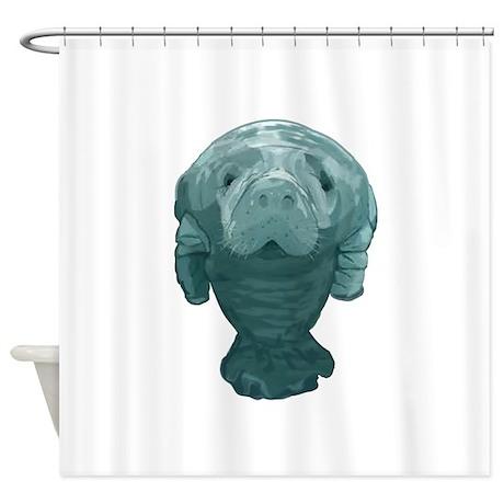 MANATEE Shower Curtain By AROJA