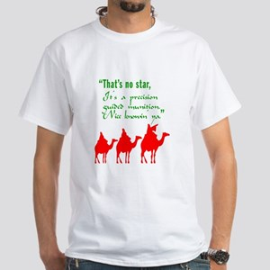 Jesus and Nazareth|That's No Star White T-Shirt