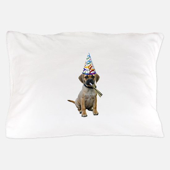Puggle Party Pillow Case