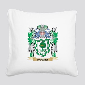 Mooney Coat of Arms - Family Square Canvas Pillow