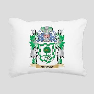 Mooney Coat of Arms - Fa Rectangular Canvas Pillow