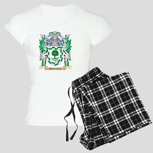 Mooney Coat of Arms - Famil Women's Light Pajamas