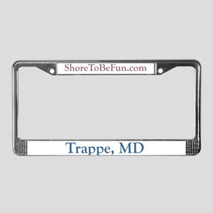 Trappe MD License Plate Frame