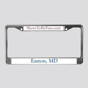 Easton MD License Plate Frame