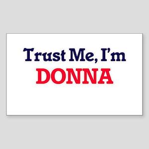 Trust Me, I'm Donna Sticker