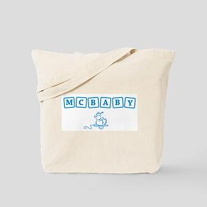 McBaby t-shirt Tote Bag