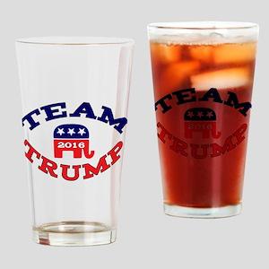 Team Trump 2016 GetYerGoat Drinking Glass