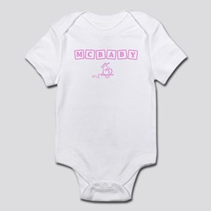 McBaby t-shirt Infant Bodysuit
