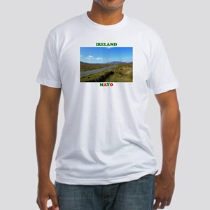 Achill Island Road Fitted T-Shirt