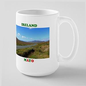 Achill Island Road Large Mug