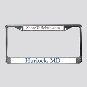 Hurlock MD License Plate Frame