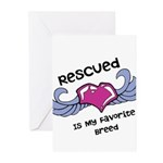 Rescued Greeting Cards