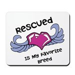 Rescued Mousepad