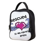 Rescued Neoprene Lunch Bag