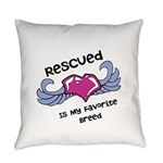 Rescued Everyday Pillow
