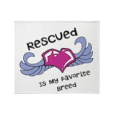 Rescued Throw Blanket