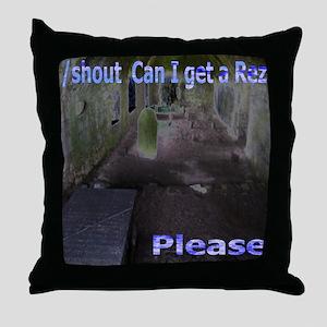 Rez Please Throw Pillow