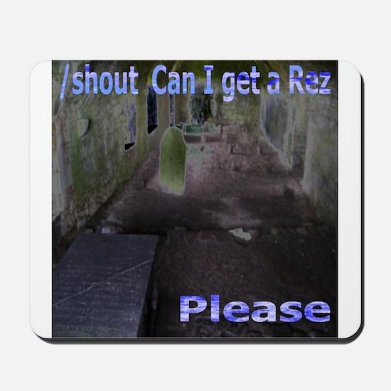 Rez Please Mousepad