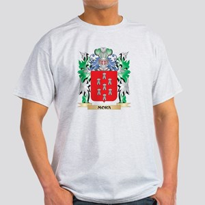 Mora Coat of Arms - Family Crest T-Shirt