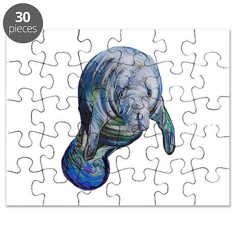 manatee puzzle by aroja