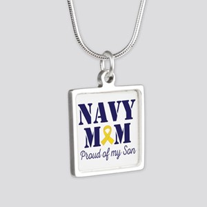 Navy Mom Proud Son Necklaces