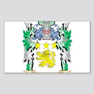 Mores Coat of Arms - Family Crest Sticker