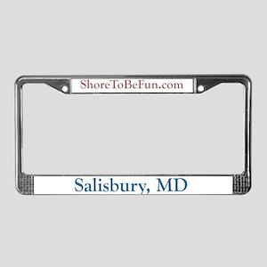 Salisbury MD License Plate Frame