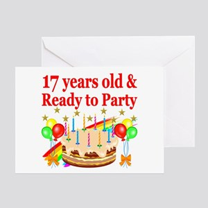 17TH BIRTHDAY Greeting Card