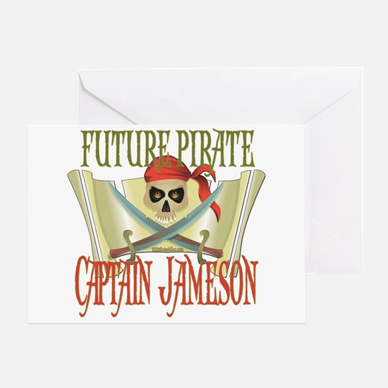 Captain Jameson Greeting Card