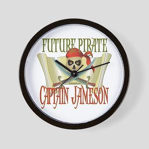 Captain Jameson Wall Clock