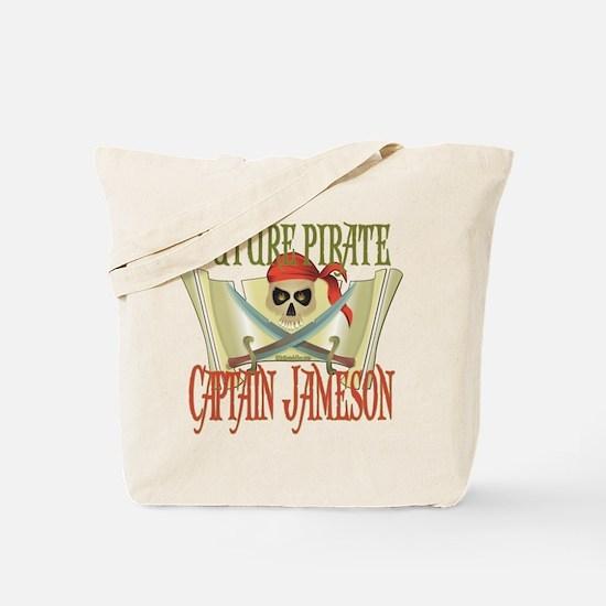 Captain Jameson Tote Bag