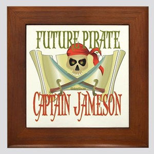 Captain Jameson Framed Tile