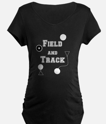Field and Track Maternity T-Shirt