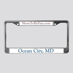 Ocean City MD License Plate Frame