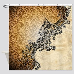 Wonderful vintage design Shower Curtain