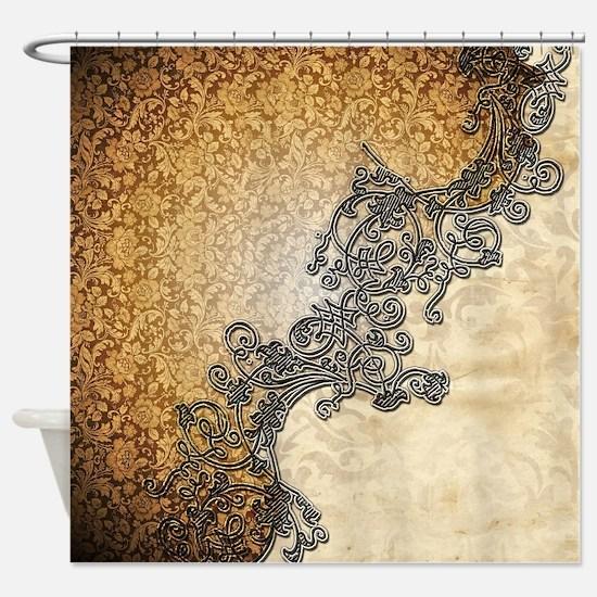 Wonderful vintage design Shower Curtain